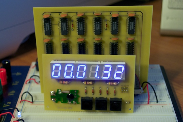 For The Decade Counter Circuit Above Is The Use Of